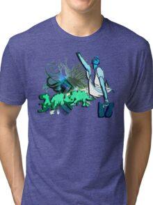 Dino disco Tri-blend T-Shirt
