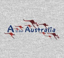 A is for Australia Kids Tee