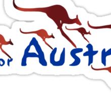 A is for Australia Sticker
