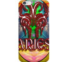 Aries Zodiac Sign Horoscope Psychedelic Optical Illusion iPhone Case/Skin