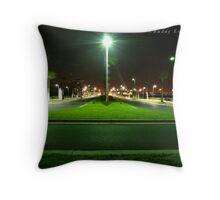 Street Lamp Rampage Throw Pillow