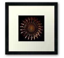 Bronze Incendia Framed Print