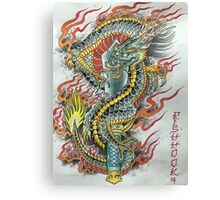 Kurikara Dragon Sword Canvas Print