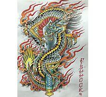 Kurikara Dragon Sword Photographic Print