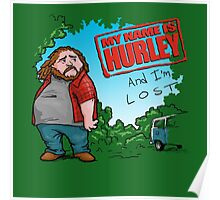 My name is Hurley  Poster