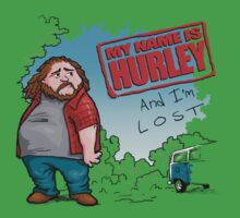 My name is Hurley  by Bleee