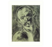 The Executioner - after Caravaggio. Art Print