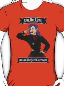 Join The Geek Fleet! T-Shirt