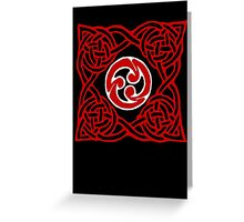 celtic knotwork  Greeting Card