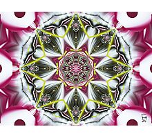Golden Line Mandala Photographic Print