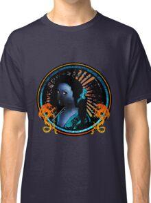 Blue Geisha Girl Shirt Classic T-Shirt