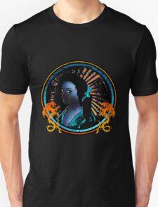 Blue Geisha Girl Shirt T-Shirt