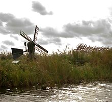 Wind and water mill  by steppeland