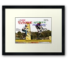 Extreme Sports Photography Group eMagazine Cover Framed Print