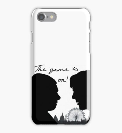 The game is on! iPhone Case/Skin