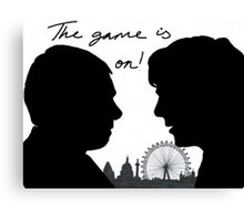 The game is on! Canvas Print