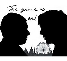 The game is on! Photographic Print