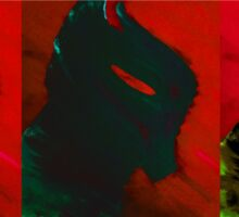 Arkham Knight in Red Sticker