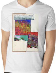edward gazed Mens V-Neck T-Shirt