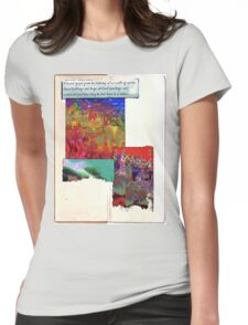 edward gazed Womens Fitted T-Shirt