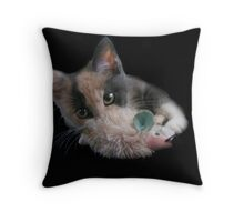 You cant see me  Throw Pillow