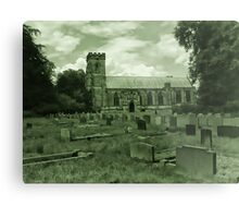 St Mary Church - Sledmere - East Yorks Metal Print