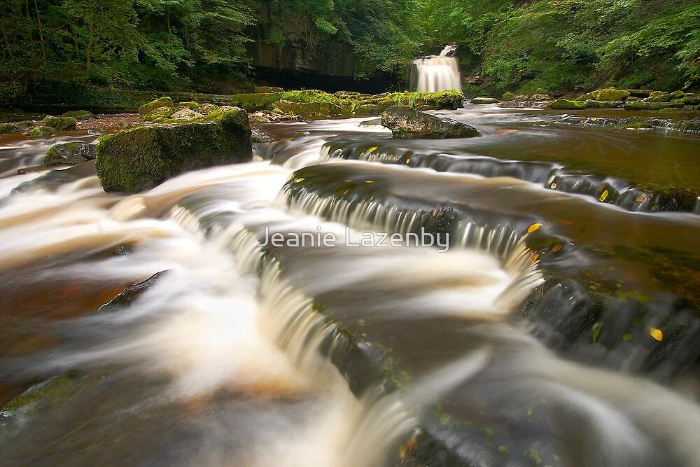 West Burton Falls by Jeanie