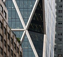 Hearst Tower, Midtown, Manhattan, New York, USA by jmhdezhdez