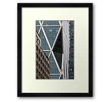 Hearst Tower, Midtown, Manhattan, New York, USA Framed Print