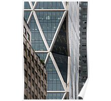 Hearst Tower, Midtown, Manhattan, New York, USA Poster