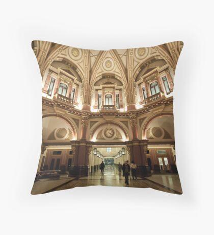 Beautiful Bank Throw Pillow
