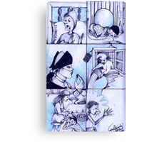 The Misadventures Of Pinocchio Canvas Print