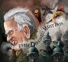 """Even Darkness Must Pass"" ~J.R.R Tolkien by TFreyArt"
