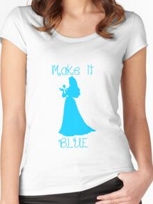 Make it BLUE Women's Fitted Scoop T-Shirt