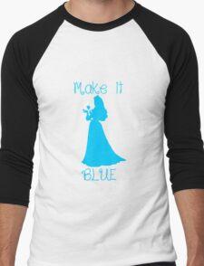 Make it BLUE Men's Baseball ¾ T-Shirt