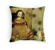 Milk, Two Sugars Throw Pillow