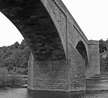 Ladykirk & Norham Bridge by Ryan Davison Crisp