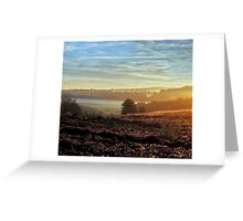 Early Rays Greeting Card