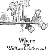 Where The Yellow Brick Road Ends by Lacey Simpson