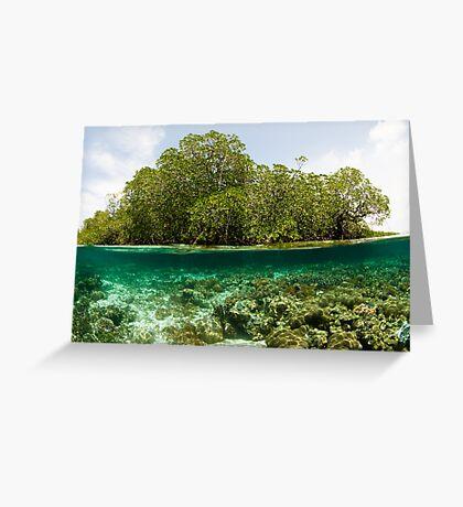 Raja Ampat Mangroves Greeting Card