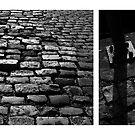 Bristol brick pavement diptych by ragman