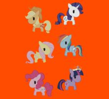 Mane 6 Chibis Kids Clothes