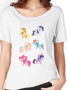 Mane 6 Chibis Women's Relaxed Fit T-Shirt