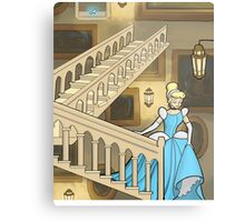A Slipper On The Staircase Metal Print
