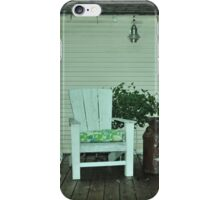 rocking chairs iPhone Case/Skin