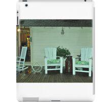 rocking chairs iPad Case/Skin