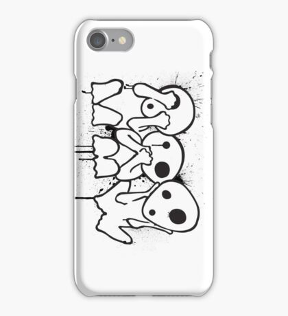 Kodama (Tree Spirits) iPhone Case/Skin