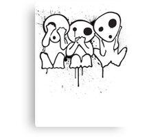 Kodama (Tree Spirits) Canvas Print