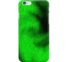 Green Abstract Texture 2 iPhone Case/Skin