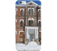 Old Asylum and blue iPhone Case/Skin